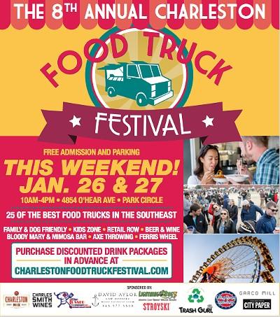 Charleston Food Truck Festival Tickets | Garco Mill | N